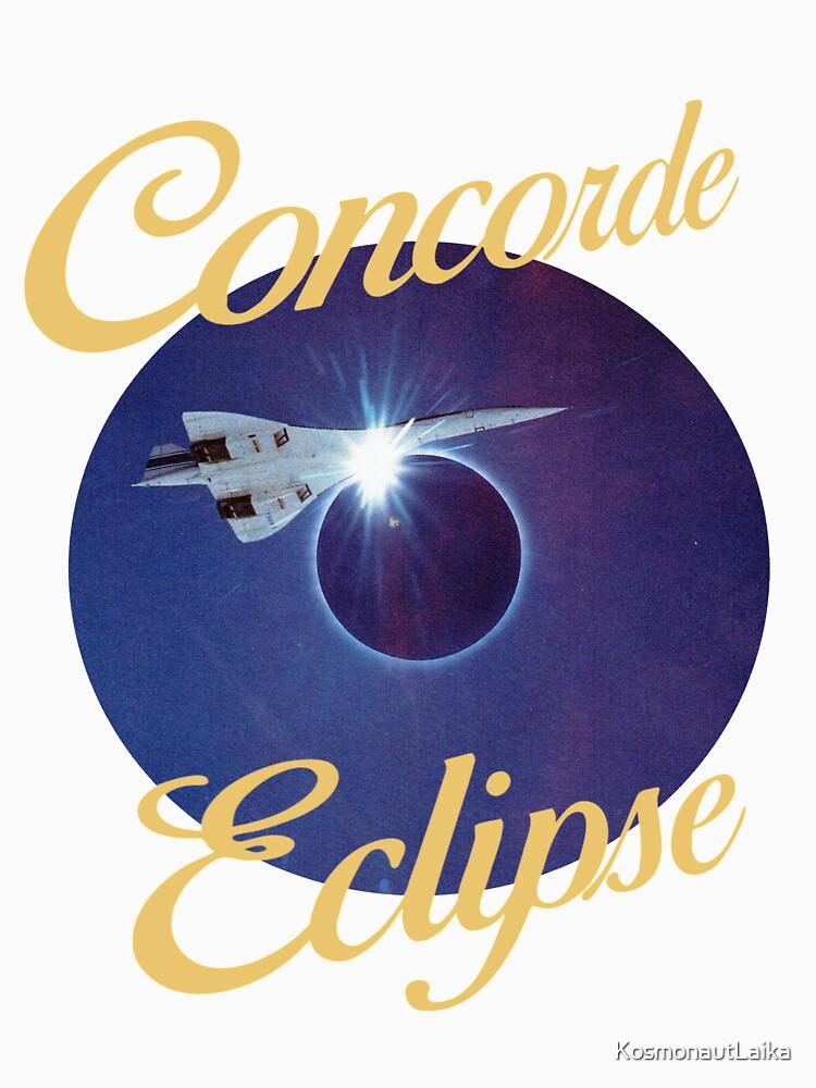 Concorde eclipse by KosmonautLaika