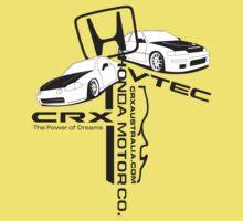 Crxaustralia combined tshirt with Honda symbol