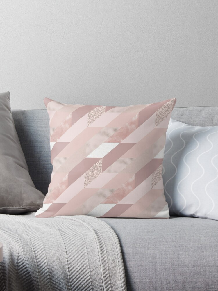 Tiles in Rose Gold and Mauve by Lena127