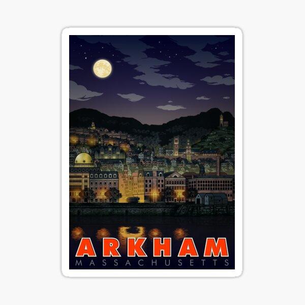 Greetings From Arkham, Mass Sticker