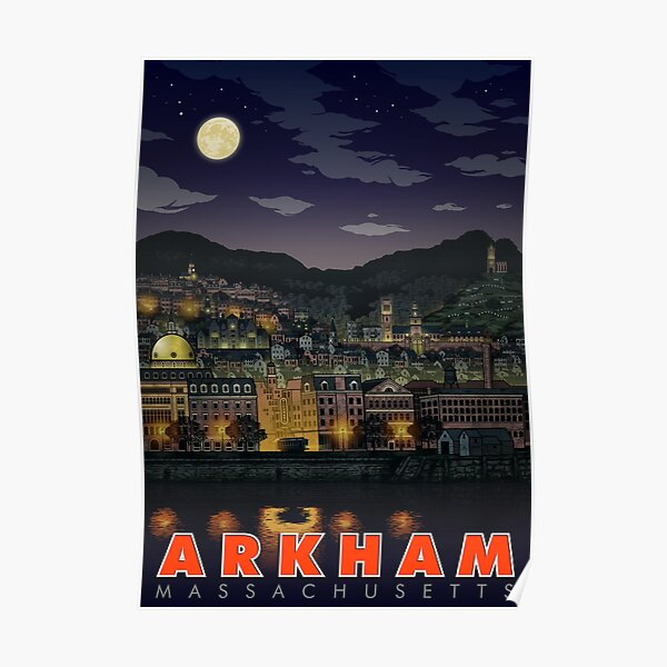 Greetings From Arkham, Mass Poster