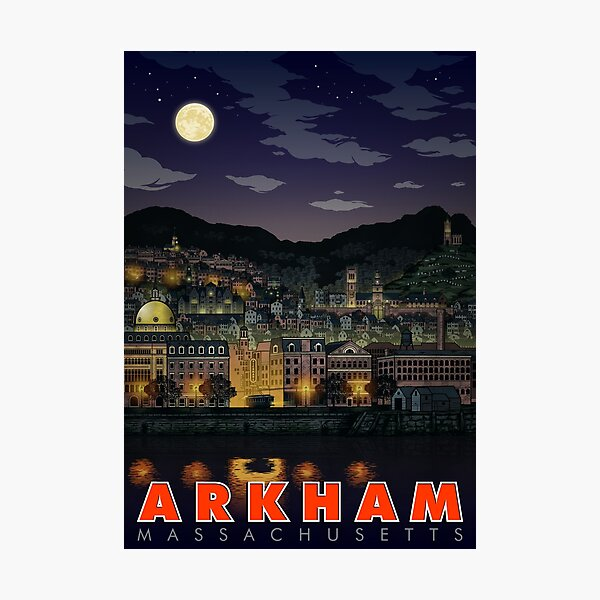 Greetings From Arkham, Mass Photographic Print