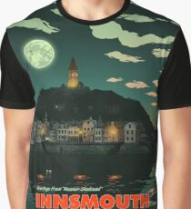 Greetings from Innsmouth, Mass Graphic T-Shirt