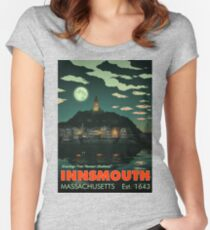 Greetings from Innsmouth, Mass Fitted Scoop T-Shirt