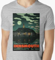 Greetings from Innsmouth, Mass V-Neck T-Shirt