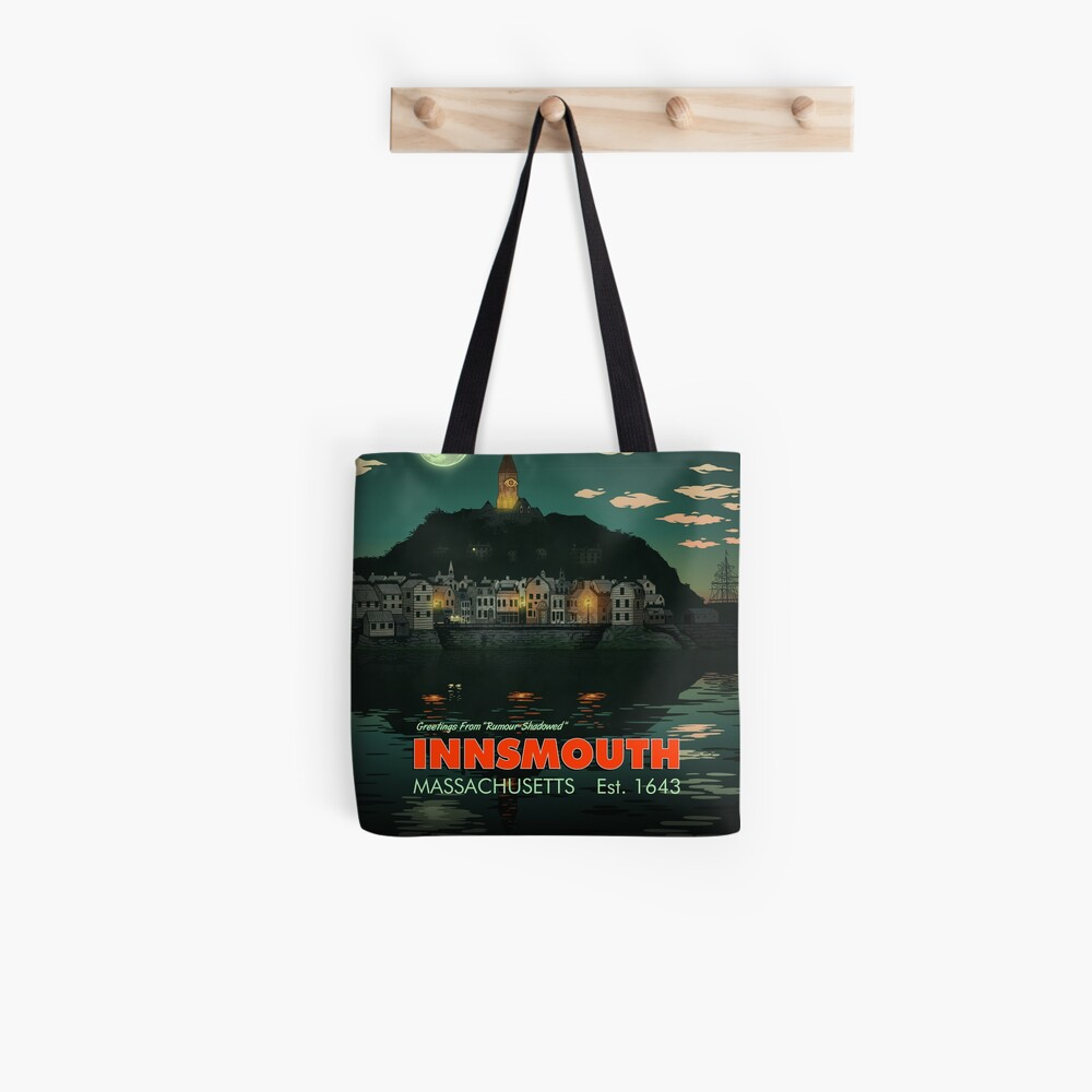 Greetings from Innsmouth, Mass Tote Bag