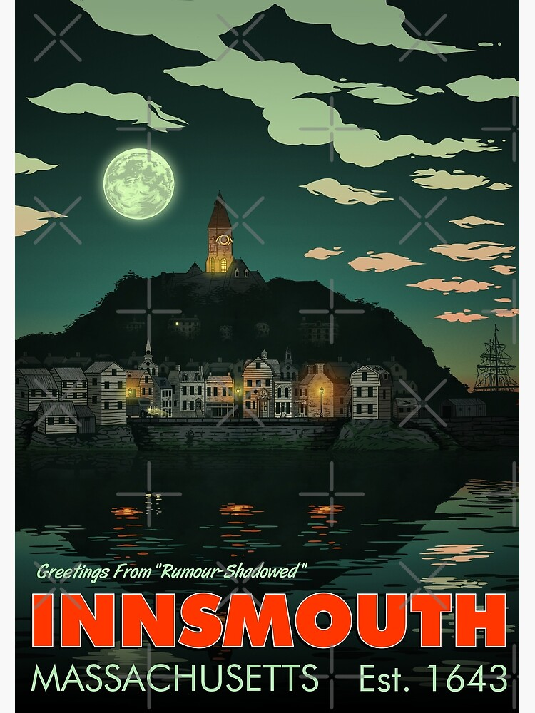 Greetings from Innsmouth, Mass by OtterSquad