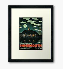 Greetings from Innsmouth, Mass Framed Print