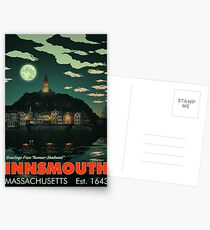 Greetings from Innsmouth, Mass Postcards