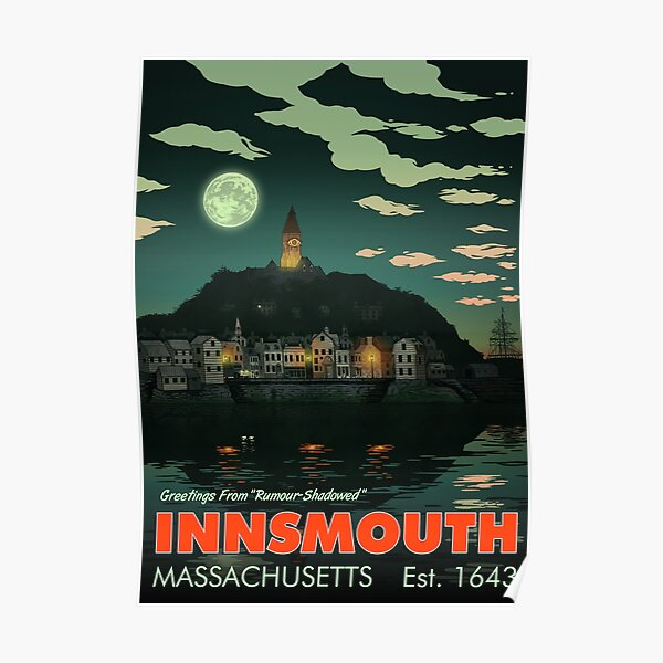 Salutations d'Innsmouth Poster