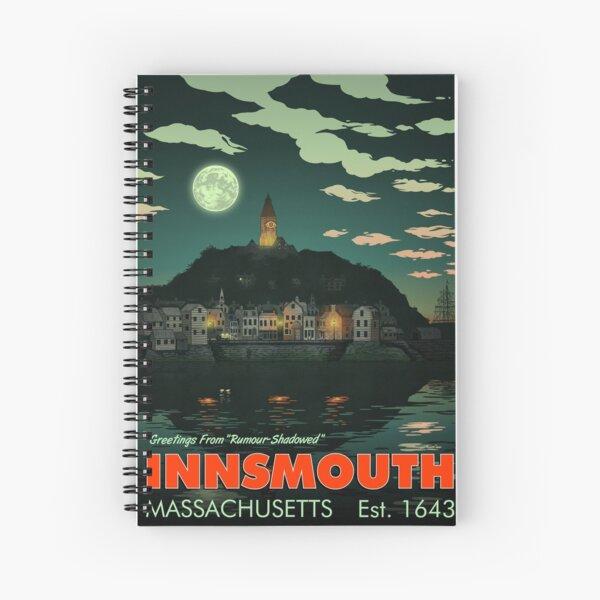 Greetings from Innsmouth, Mass Spiral Notebook