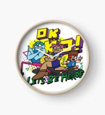 O.K K.O LET'S BE HEROES Clock