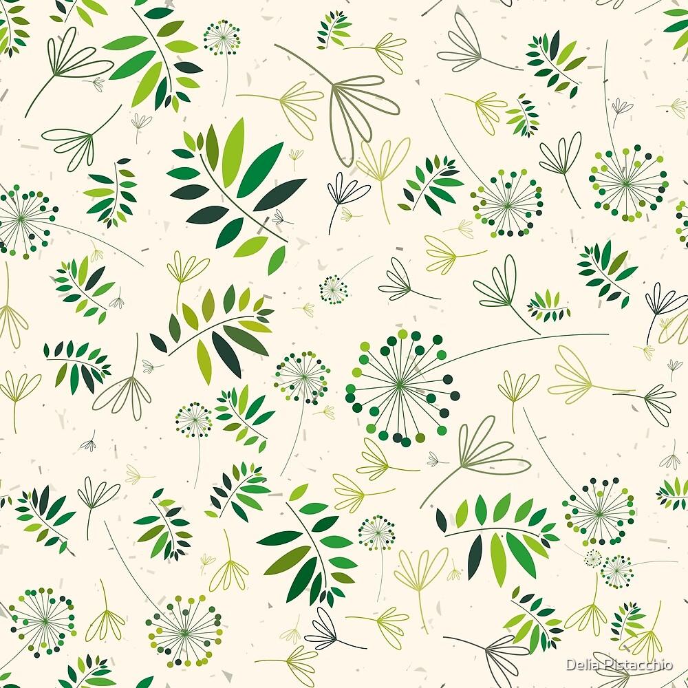 Green Vegetal Design by Delia Pistacchio