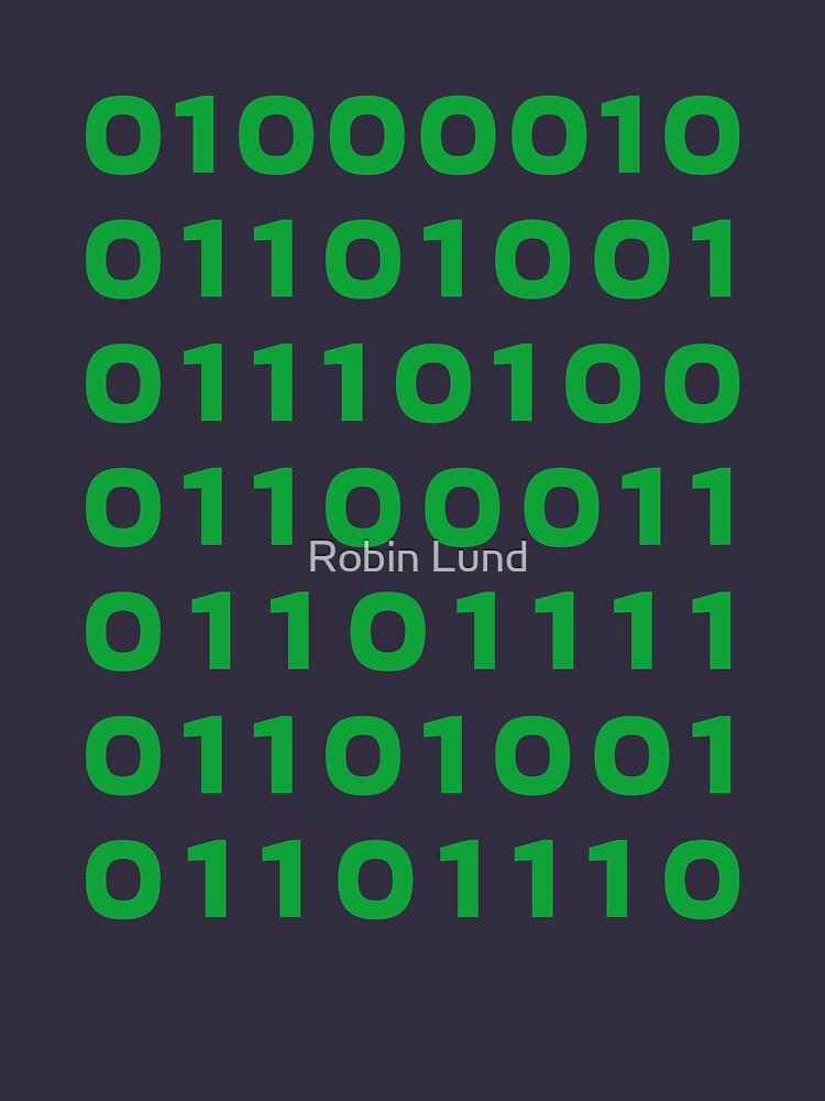 Bitcoin binary | Unisex T-Shirt