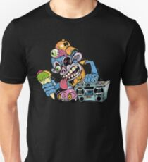 Music Addict Monkey Unisex T-Shirt