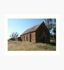 Abandoned Church, Goolagong, N.S.W. Art Print