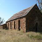Abandoned Church, Goolagong, N.S.W. by Trish Meyer