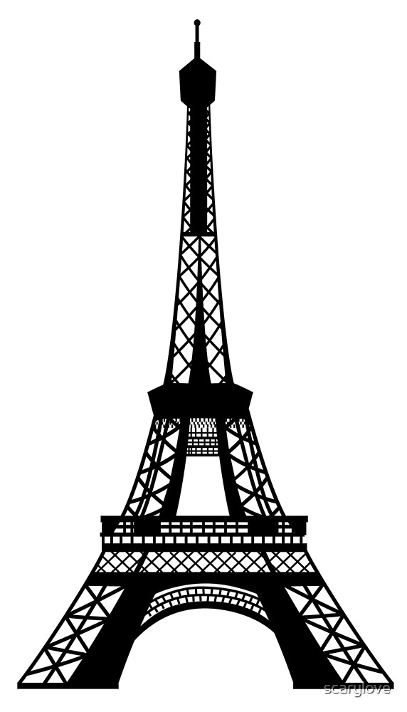 Eiffel Tower by scarylove