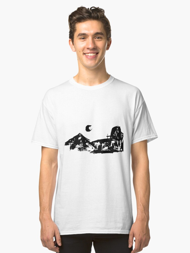 Night Sky Classic T-Shirt Front