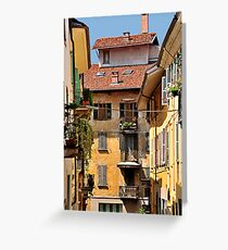 Italian Balconies and Doors 2 Greeting Card