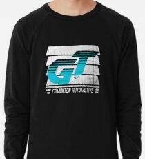 Edmonton Auto - Cyan & White - Slotted Up Lightweight Sweatshirt
