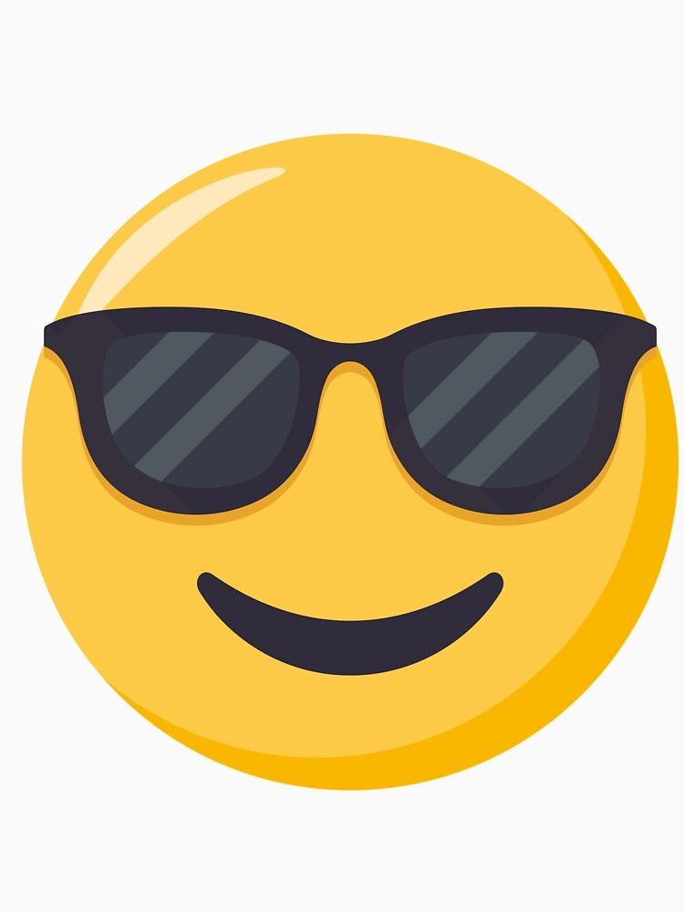 JoyPixels Smiling Face with Sunglasses Emoji by joypixels