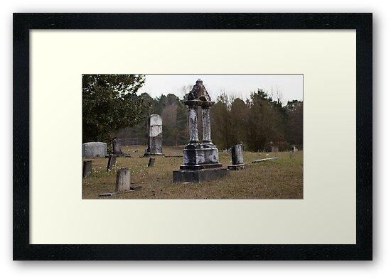 Cemetery by creepyjoe