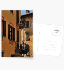 Balconies and Doors Postcards