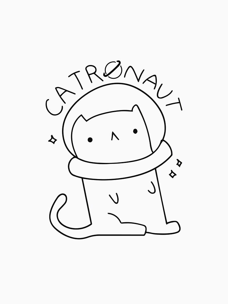 Cat astronaut by JannikGHG