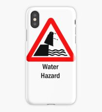 Water Hazard iPhone Case/Skin