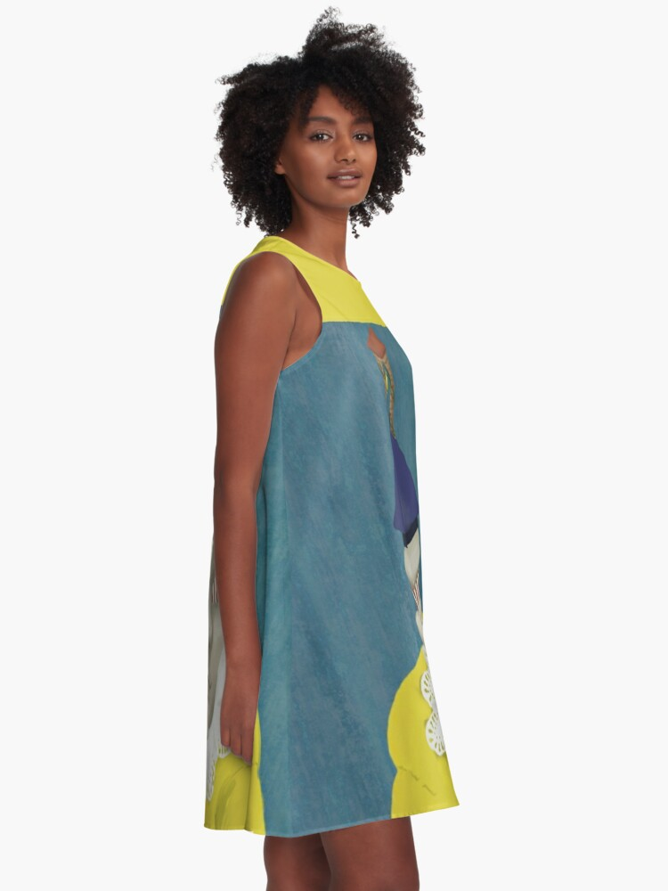 Alternate view of Mister Blueberry A-Line Dress