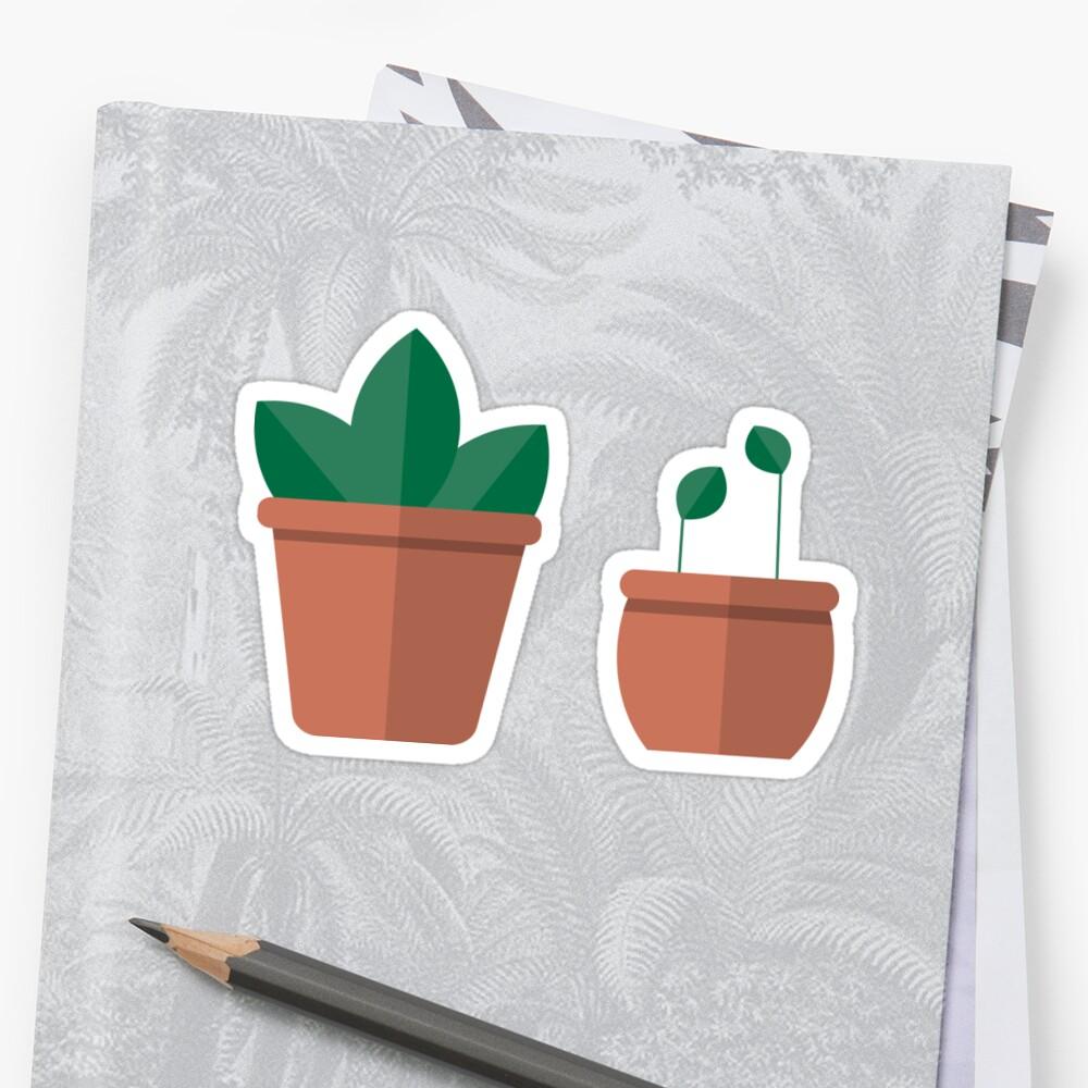 Terracotta Plants by sierraford