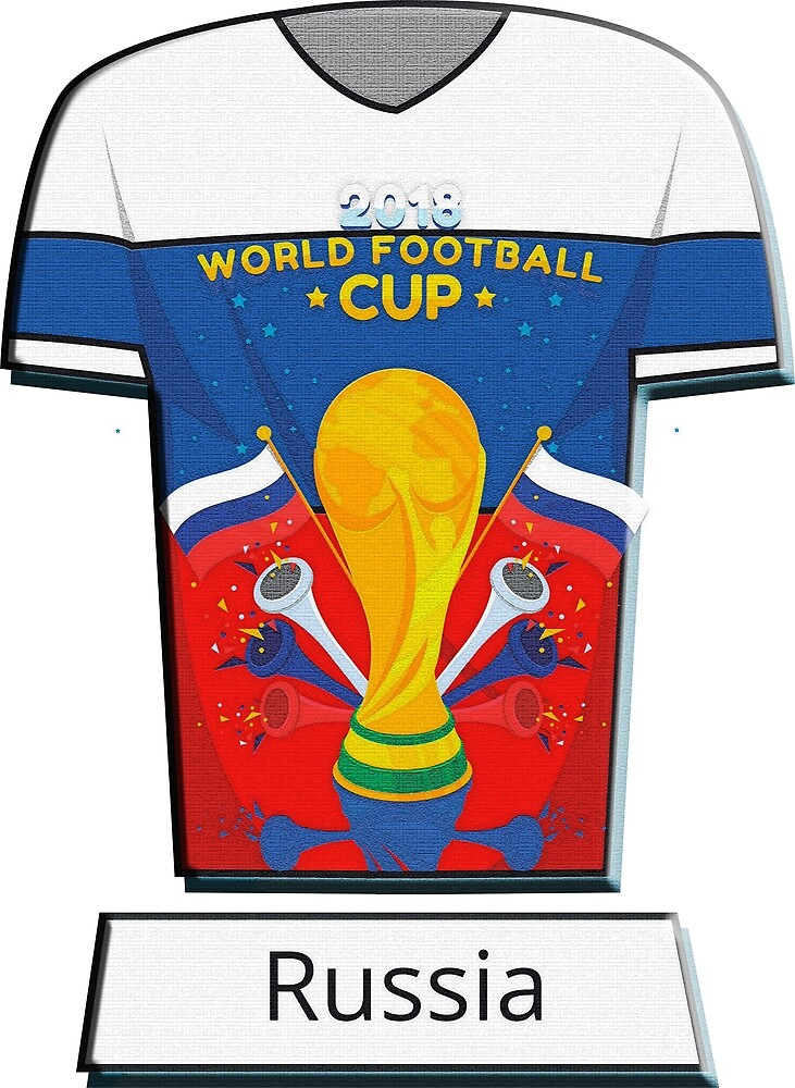World Cup 2018 Group A Russia! by cristianocosta