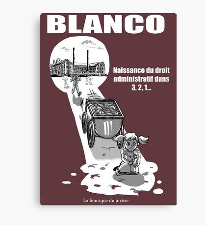 Blanco Impression sur toile