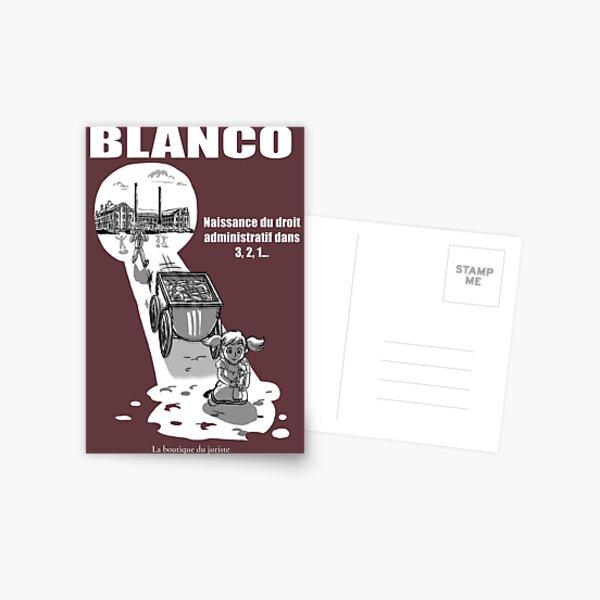 Blanco Carte postale
