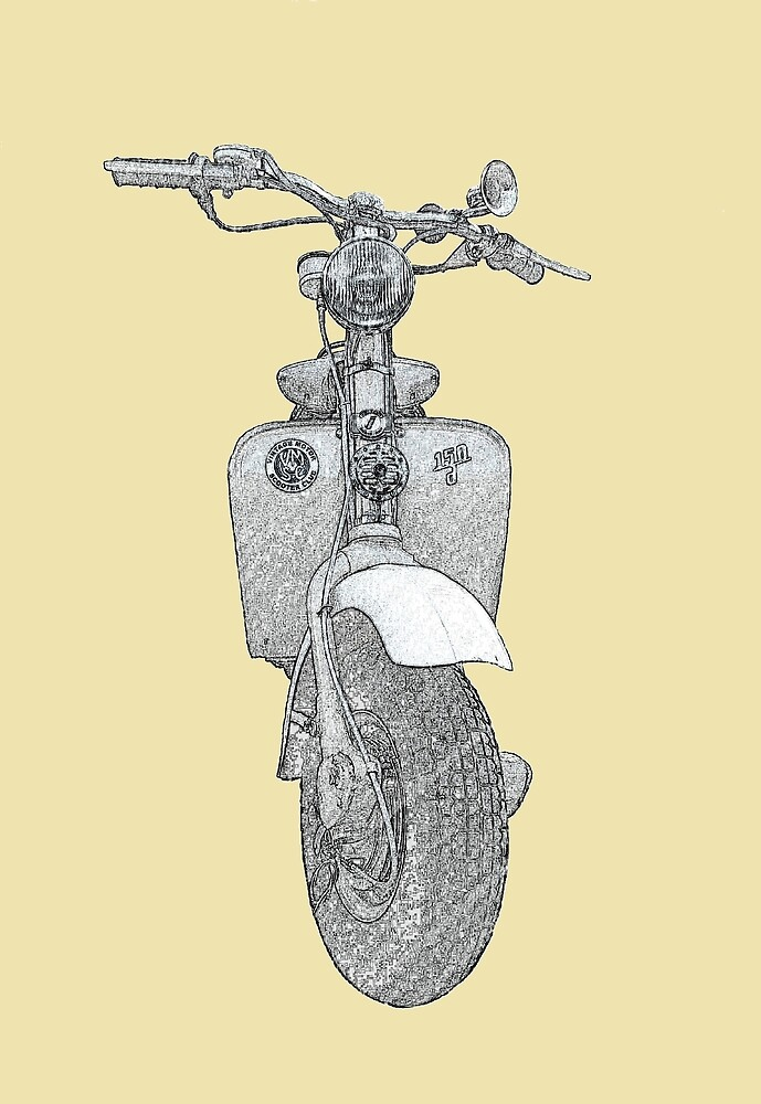 Lambretta Model D Pencil Effect by BaM-Productions