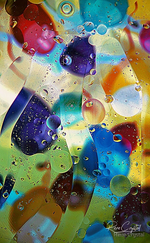 Bubblicious #1 by Rene Crystal