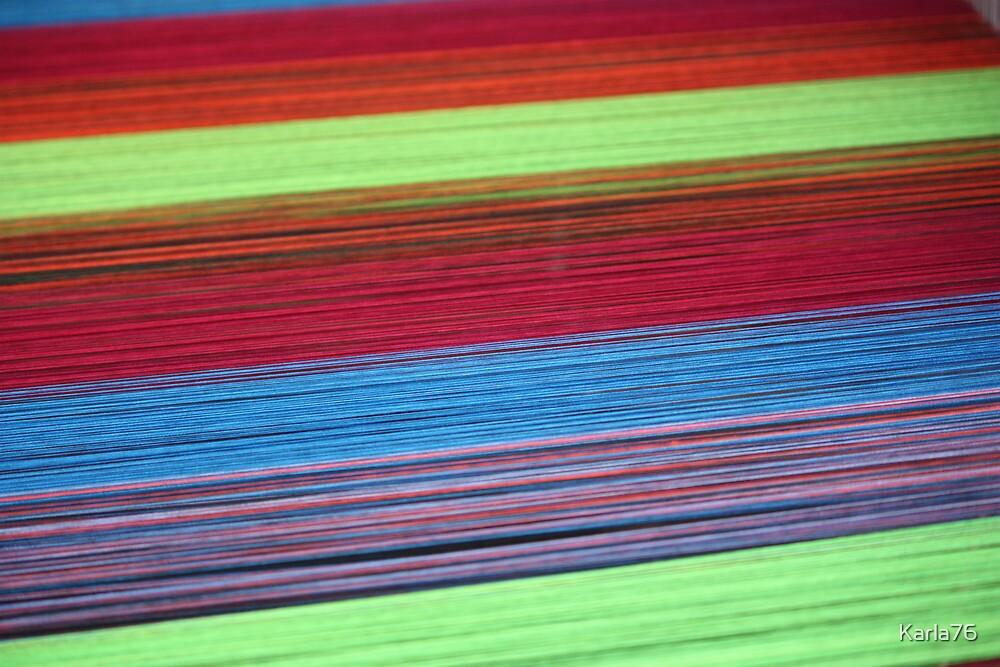 Colorful yarn  by Karla76