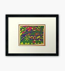 FISH  FANTASY Framed Print