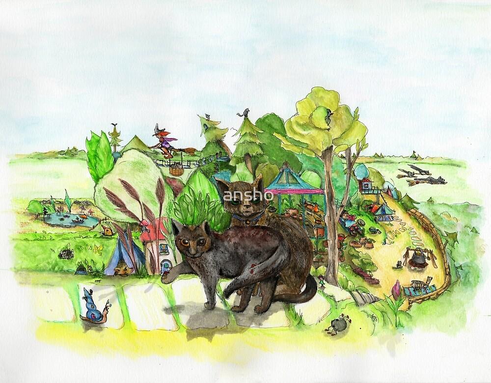 Witchington Gardens by ansho