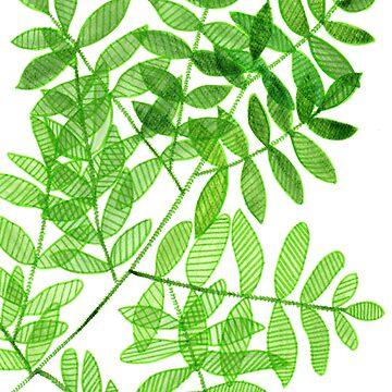 Tree leaves by aidesignstudio