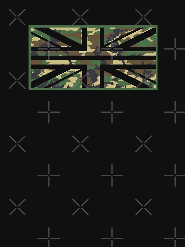 Camo Union Jack Flag by yoshi77