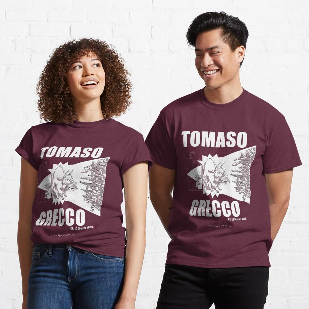 T-shirt classique «Tomaso Grecco»