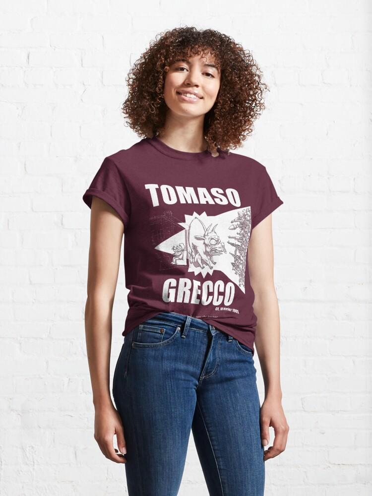 T-shirt classique ''Tomaso Grecco': autre vue