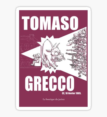 Tomaso Grecco Sticker