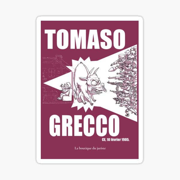 Tomaso Grecco Sticker