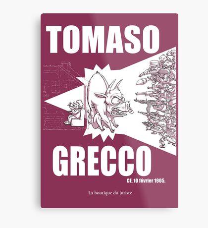 Tomaso Grecco Impression métallique
