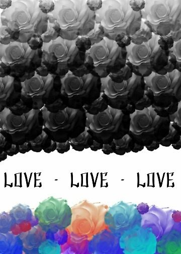 Roses and Love by bblurryfacee