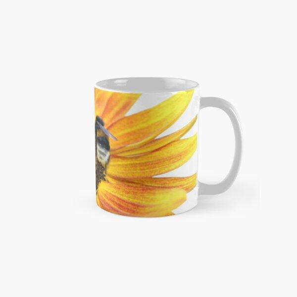 Feuersonnenblume mit Biene Tasse (Standard)