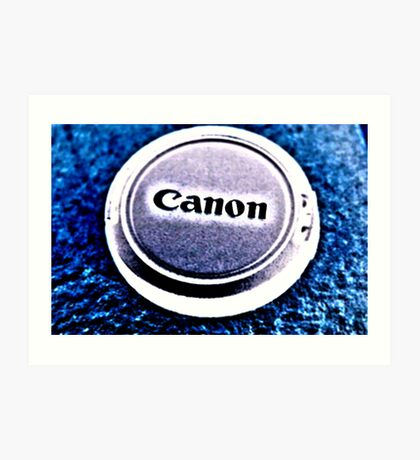 HighKey Canon Art Print